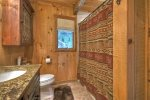 Main Floor Bathroom with a Tub Shower Combo